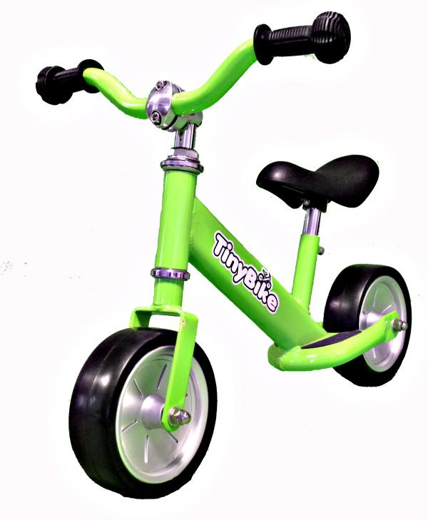 Tiny Bike Balance / Training Bike - Green-0