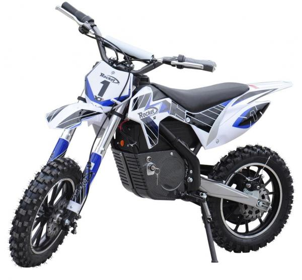 Kids Rocket DB500 Electric / Battery Dirt Bike 36v Motorbike - Blue-0