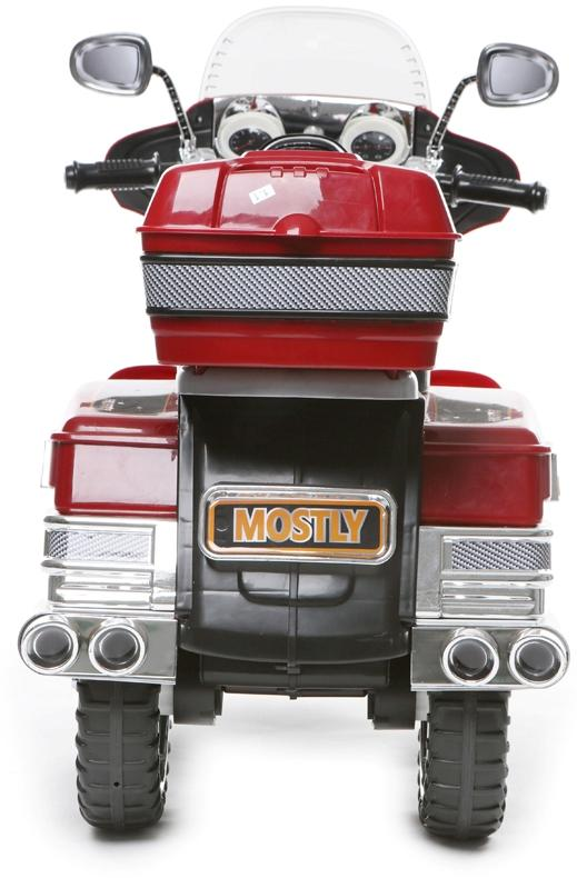 Kids Rocket Harley 12v Electric / Battery Cruiser Deluxe Ride On Motorbike - Red-3249