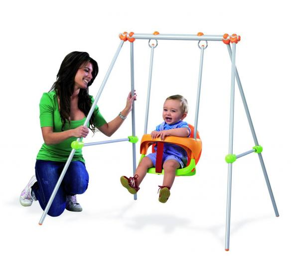 Smoby Metal Baby Swing -0