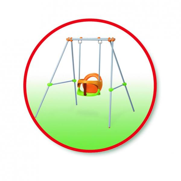 Smoby Metal Baby Swing -6882