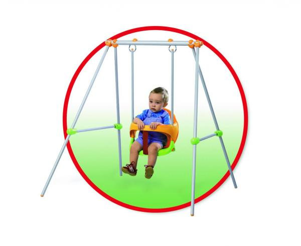 Smoby Metal Baby Swing -6883