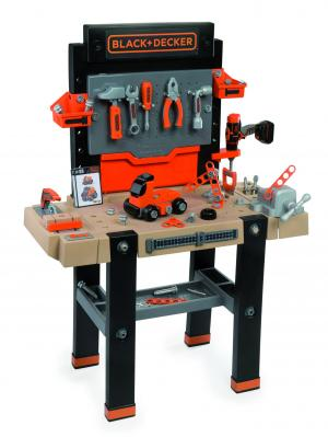 Smoby Black & Decker The Ultimate WorkbenchSmoby Black & Decker The Ultimate-0