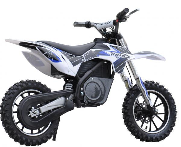 Kids Rocket DB500 Electric / Battery Dirt Bike 36v Motorbike - Blue-3309
