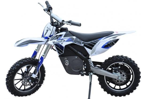 Kids Rocket DB500 Electric / Battery Dirt Bike 36v Motorbike - Blue-3311