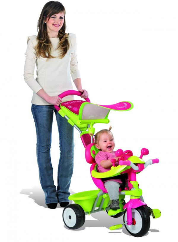 Smoby Baby Driver Confort Girl Trike / Tricycle-9485