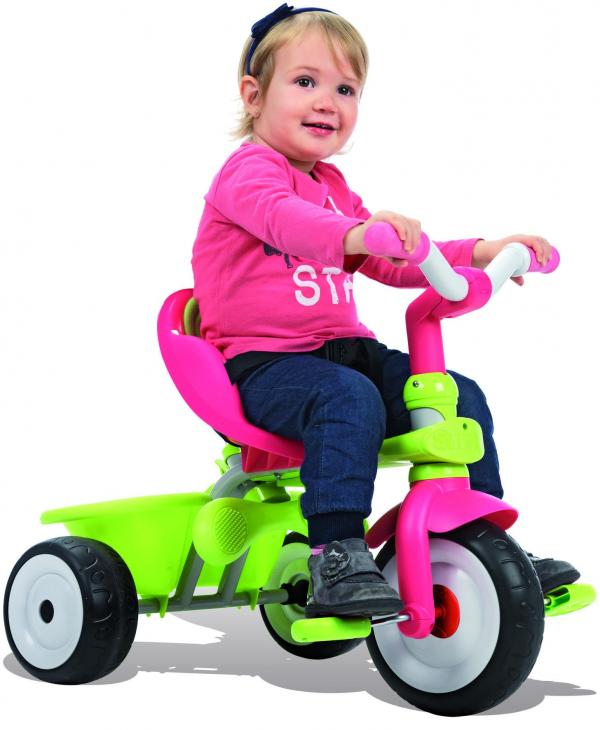 Smoby Baby Driver Confort Girl Trike / Tricycle-9484