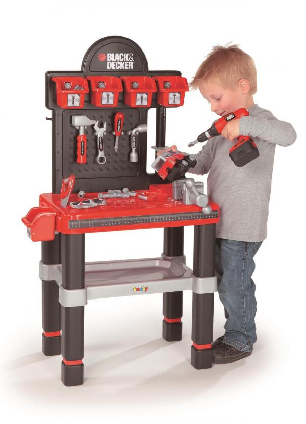 Smoby Black And Decker Workbench -0
