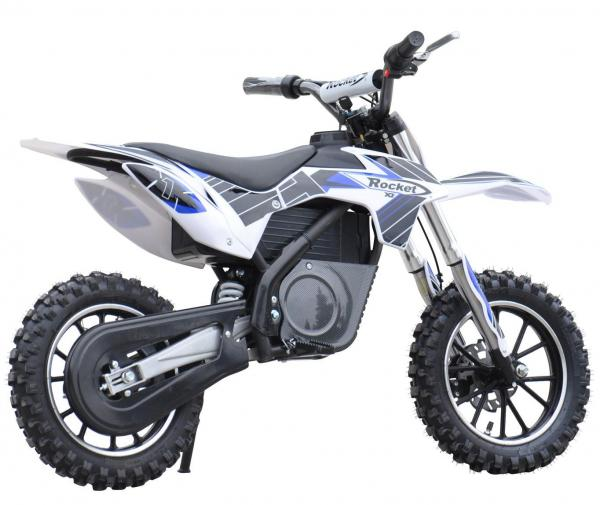 Kids Rocket DB500 Electric / Battery Dirt Bike 36v Motorbike - Blue-3313