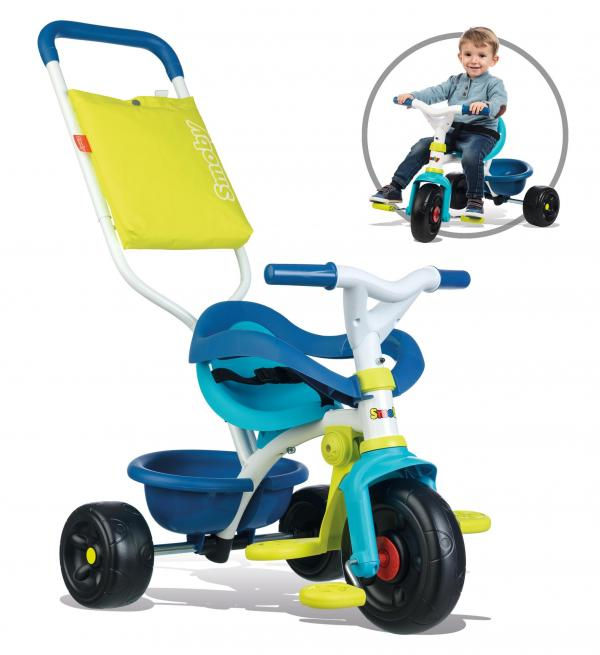 Smoby Be Move Comfort Tricycle Blue-16155