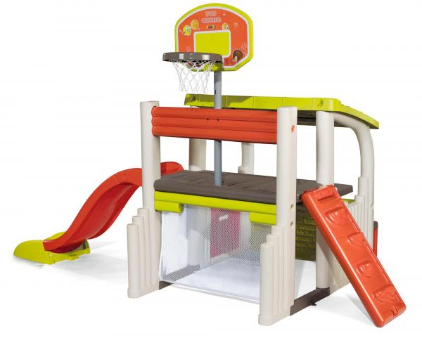 Smoby Fun Centre Playhouse with Slide-15727