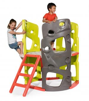 Smoby Climbing Tower with SlideSmoby Climbing Tower with Slide-0