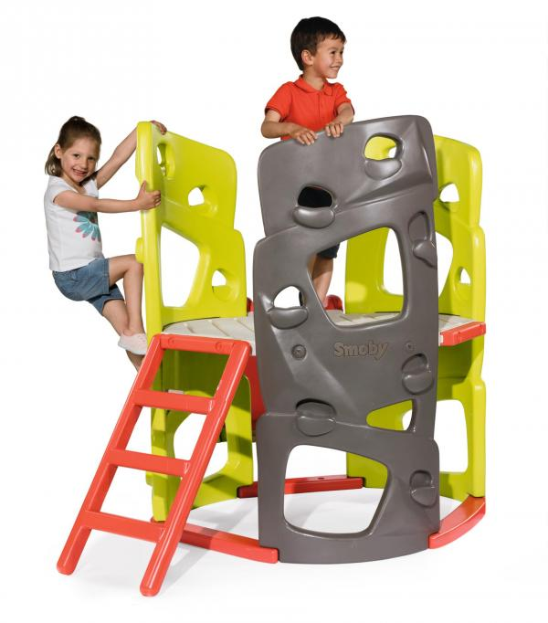 Smoby Climbing Tower with Slide-0