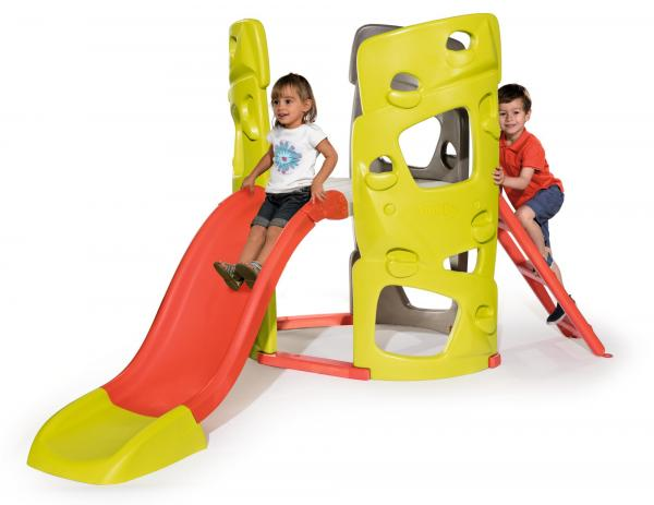 Smoby Climbing Tower with Slide-15752