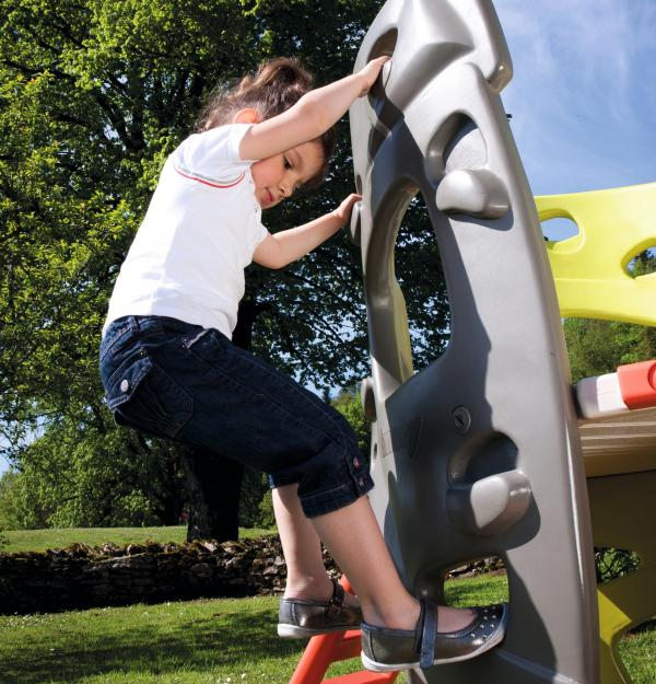 Smoby Climbing Tower with Slide-15754