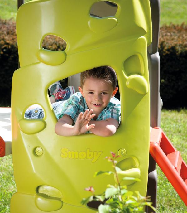 Smoby Climbing Tower with Slide-15751