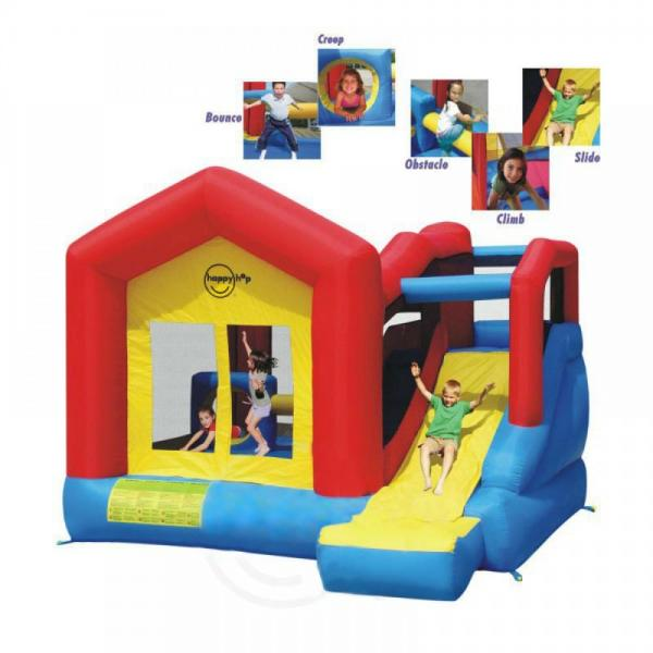 Duplay Happy Hop Inflatable Climb and Slide Bouncy Castle 9064N-5854