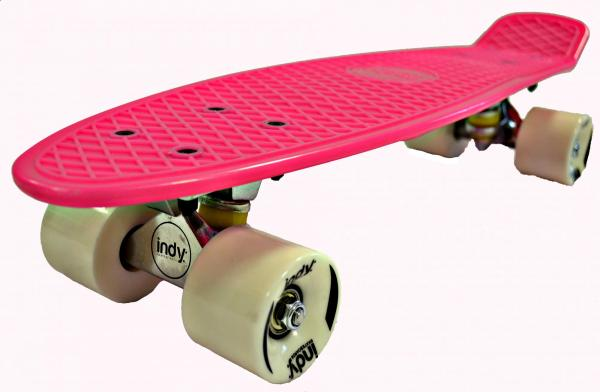 Indy Retro Skateboard Pink-2948