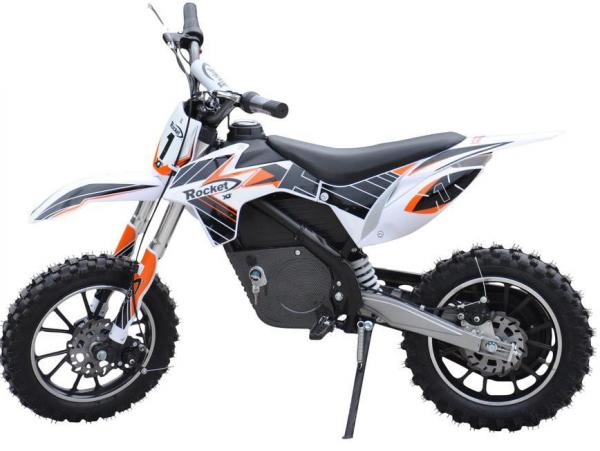 Kids Rocket DB500 Electric / Battery Dirt Bike 36v Motorbike - Orange-3296