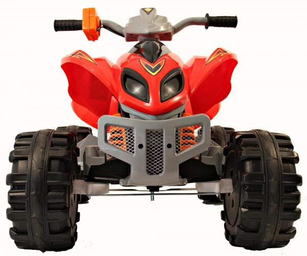 Kids Rocket Raptor Extreme 12v Ride On Electric Quad - Red-3397