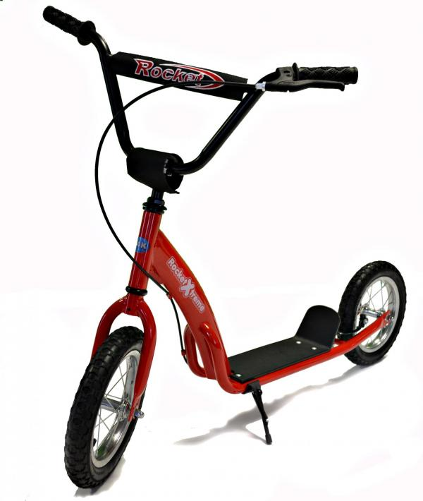 Rocket Xtreme BMX Style Scooter Red-3013
