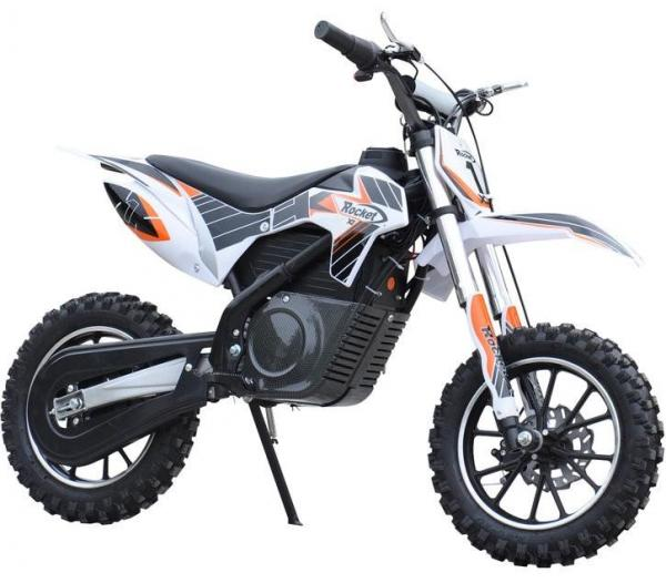 Kids Rocket DB500 Electric / Battery Dirt Bike 36v Motorbike - Orange-3295