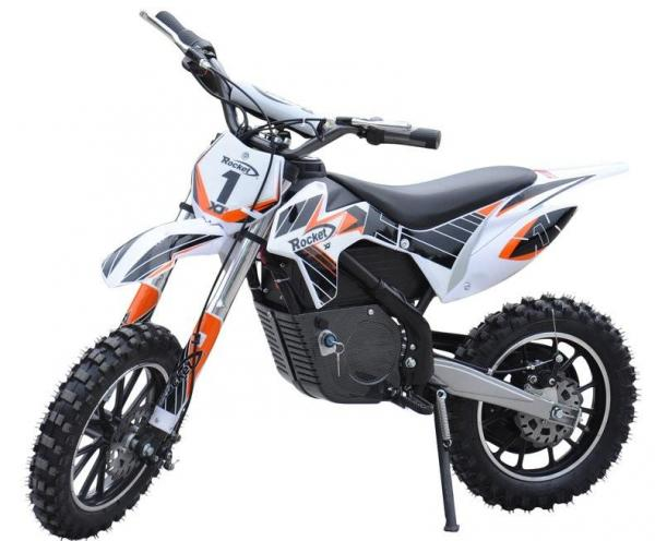Kids Rocket DB500 Electric / Battery Dirt Bike 36v Motorbike - Orange-3298