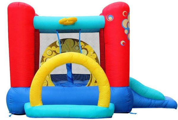 Duplay Happy Hop Children's Inflatable Bubble 4 in 1 Bouncy Castle 9214-4343