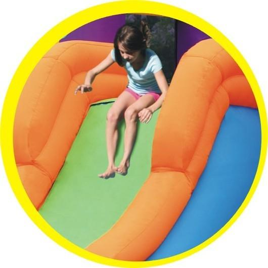 Duplay Happy Hop Children's Inflatable Combo Party Bouncy Castle 9236-4349