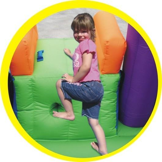Duplay Happy Hop Children's Inflatable Combo Party Bouncy Castle 9236-4351