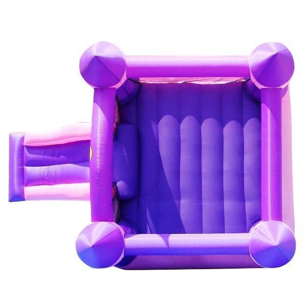 Duplay Happy Hop Inflatable Bounce 'n' Slide Pink Turret Bouncy Castle 9017P-4443