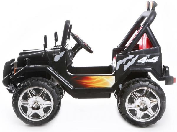 Kids 2 Seater 12v Electric / Battery Ride on Electric Jeep 4x4 Black-7049