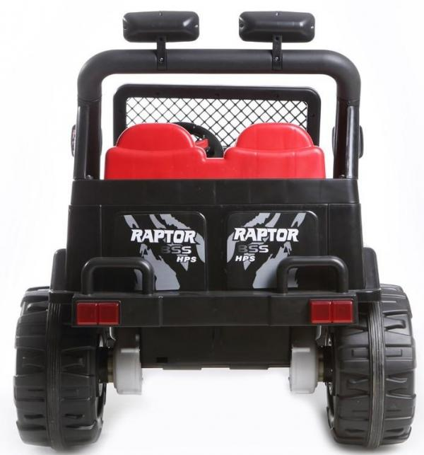 Kids 2 Seater 12v Electric / Battery Ride on Electric Jeep 4x4 Black-7043