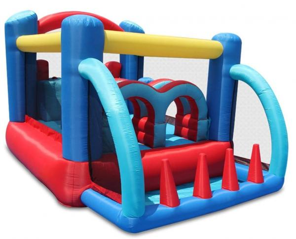Duplay Happy Hop Inflatable Racing Fun Bouncy Castle 9163-6655