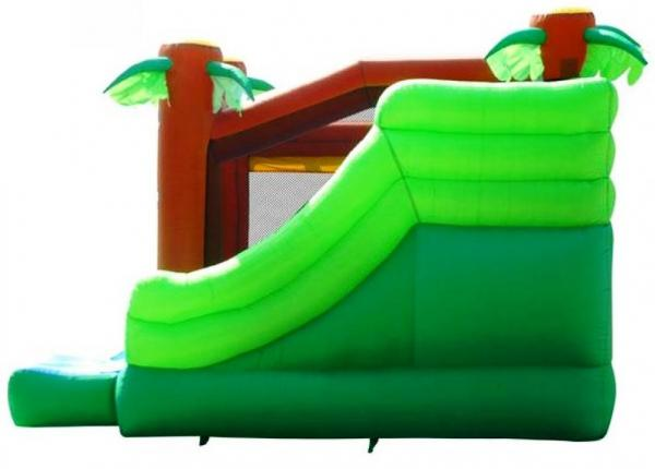 Duplay Happy Hop Inflatable Jungle Climb and Slide Bouncy Castle 9164-6637