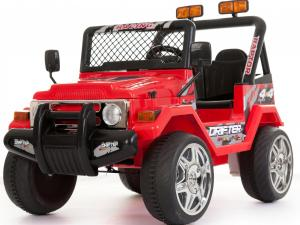 Kids 2 Seater 12v Electric / Battery Ride on Electric Jeep 4x4 RedKids 2 Seater 12v Electric / Battery Ride on Electric Jeep 4x4 Red-0