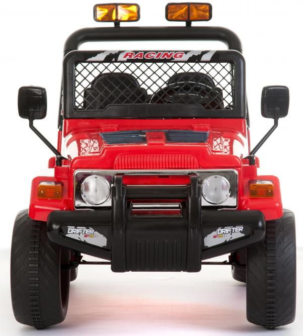 Kids 2 Seater 12v Electric / Battery Ride on Electric Jeep 4x4 Red-7114