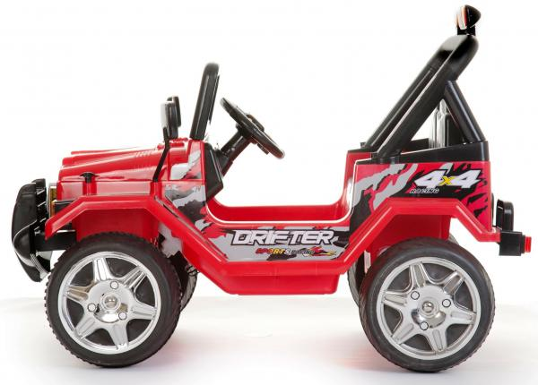 Kids 2 Seater 12v Electric / Battery Ride on Electric Jeep 4x4 Red-7112