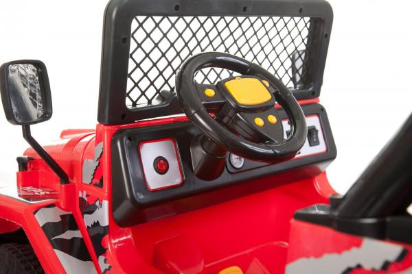 Kids 2 Seater 12v Electric / Battery Ride on Electric Jeep 4x4 Red-7110