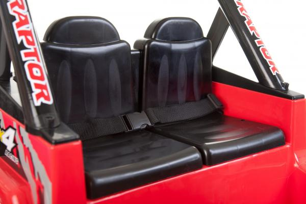 Kids 2 Seater 12v Electric / Battery Ride on Electric Jeep 4x4 Red-7108