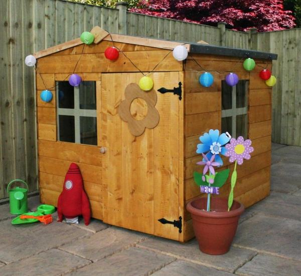 Mercia Bluebell Wooden Playhouse / Wendy House-7463