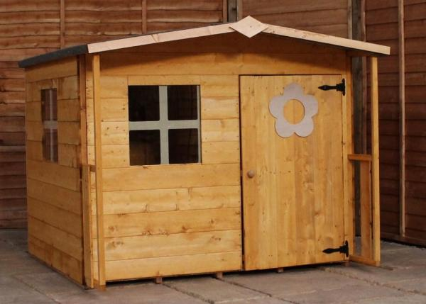 Mercia Rose Wooden Playhouse / Wendy House-7492