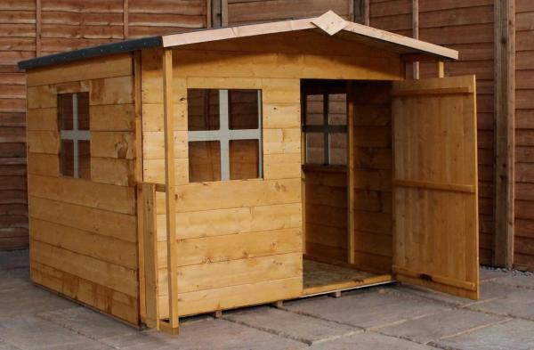 Mercia Rose Wooden Playhouse / Wendy House-0