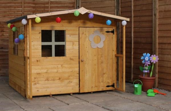 Mercia Rose Wooden Playhouse / Wendy House-7495