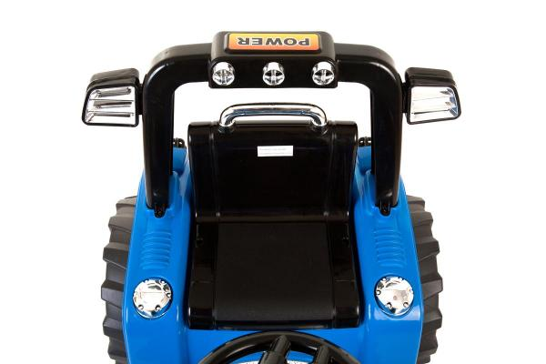 Electric Ride on Tractors - 12v - Blue-7650