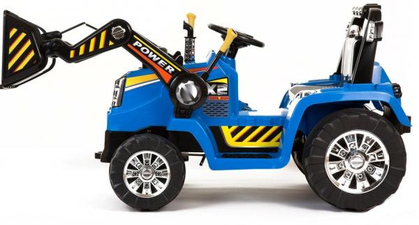 Electric Ride on Tractors - 12v - Blue-7645
