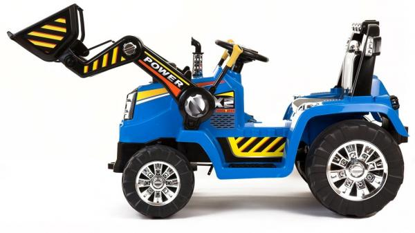 Electric Ride on Tractors - 12v - Blue-7644
