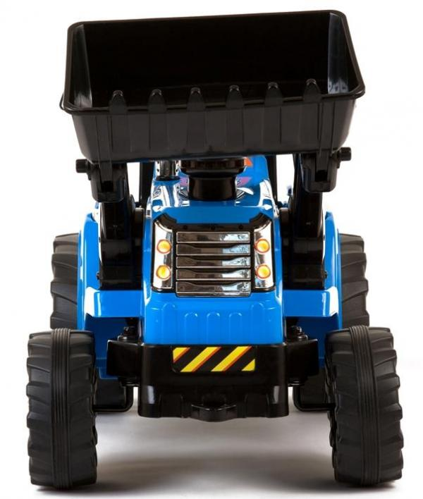 Electric Ride on Tractors - 12v - Blue-7639