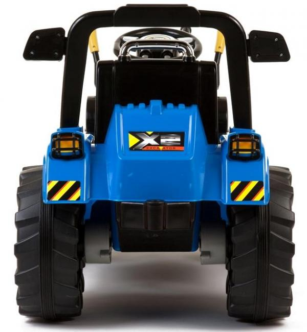 Electric Ride on Tractors - 12v - Blue-7637