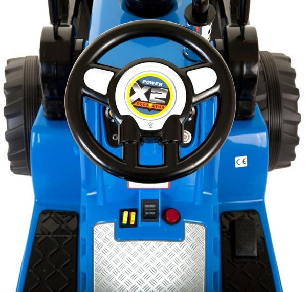 Electric Ride on Tractors - 12v - Blue-7641